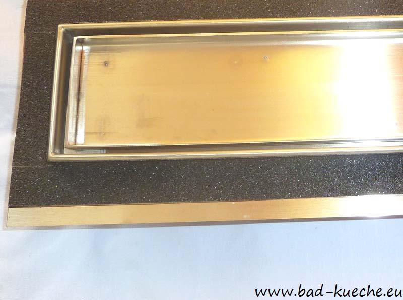 luxus duschrinne fr wandmontage wandablauf dusche super flach circles wl03 2 - Wandablauf Dusche Flach
