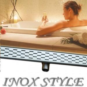 Inox Style Ablauf Duschrinne flach lanes 55 NEW