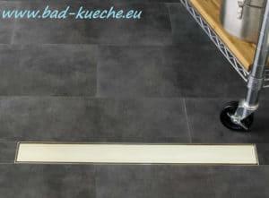 duschrinne bodenablauf flach white glass 700 800 900 12N