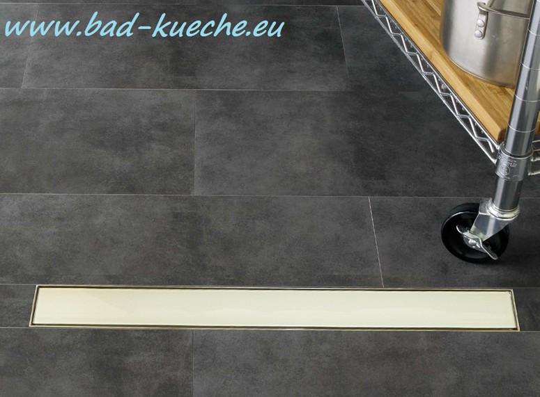 classic duschrinne bodenablauf aus edelstahl white glass wgc07 online shop bad und k che. Black Bedroom Furniture Sets. Home Design Ideas