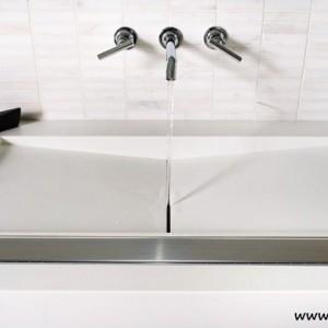Luxus duschrinne befriesbar flach duschablauf 11