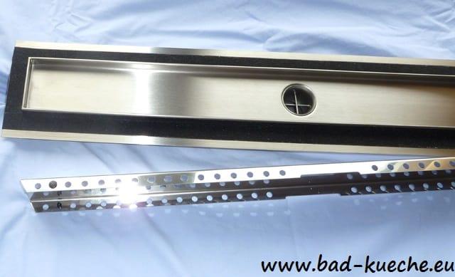 Ablaufrinne Dusche Extra Flach : Luxus Duschrinne Ablaufrinne aus Edelstahl Steel – SL05 – Online Shop