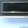 Wandablauf Dusche, Duschrinne für Wandmontage bodengleich black glas  2