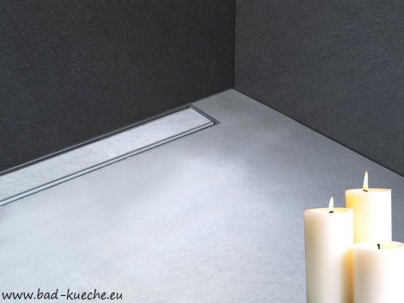 luxus befliesbarer wandablauf f r dusche duschrinne f r wandmontage tile wl12 online shop. Black Bedroom Furniture Sets. Home Design Ideas