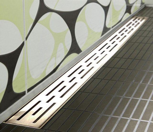 smart wandablauf extra flach duschrinne eckige wandmontage sm02. Black Bedroom Furniture Sets. Home Design Ideas